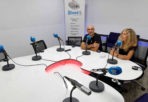 Estudio de radio independiente Goodit, productora de podcast independiente