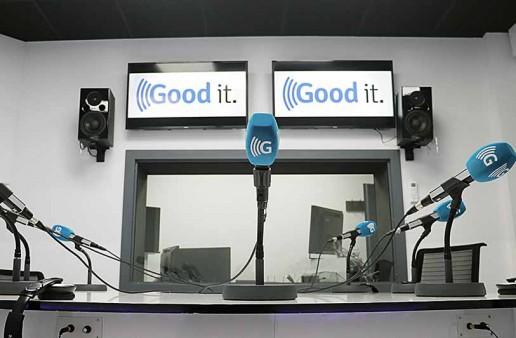 Espacio de locución Goodit